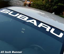 Product Subaru Windshield Vinyl Decal Sticker Window Decal Graphic Impreza Sti Wrx Jdm 1