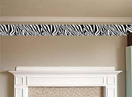 Zebra Print Kids Room