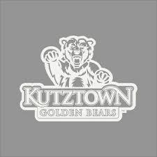 Kutztown Golden Bears College Logo 1c Vinyl Decal Sticker Car Window Wall Ebay