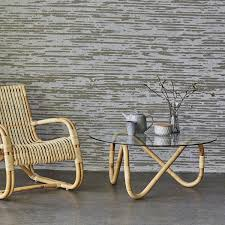 nami coffee table rattan and glass