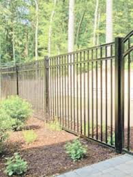 4 H X 6 W Bradford Aluminum Fence Panel Black Aluminum Fence Fence Panels Fence