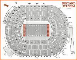neyland stadium seating chart information