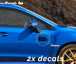 Subaru Bullet Body Decals Decalson Awesome Car Decals
