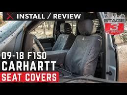 covercraft carhartt seat cover