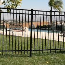 Us Door Fence Pro Series 32 In H X 93 In W Black Steel Fence Panel F2ghds93x32us The Home Depot In 2020 Steel Fence Panels Metal Fence Posts Dog Fence