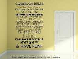 Classroom Rules Wall Decal Classroom Sign Teacher Decal Etsy Classroom Rules Classroom Signs Classroom Wall Decor