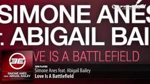 Simone Anes feat. Abigail Bailey - Love is a Battlefield (Original Mix) -  YouTube