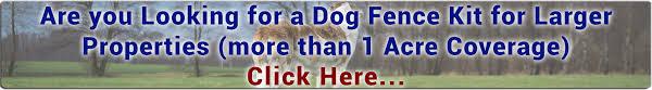 Dog Fence For Big Dogs Pet Barrier Electric Dog Fence