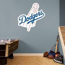 Los Angeles Dodgers Logo Los Angeles Dodgers Mlb Baseball Bedroom Texans Logo Boy S Room