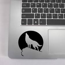 Free Shipping Wolf Laptop Sticker Vinyl Stickers For Macbook Pro Decal Air Retina Laptop Skin Decoration Laptop Skins Aliexpress