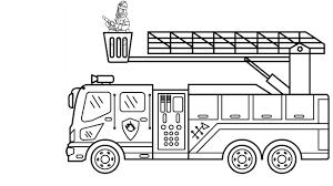 Bộ sưu tập tranh tô màu phương tiện giao thông cho bé cực đẹp - Xetreem