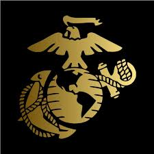 Amazon Com Usmc Pick Color Vinyl Transfer Sticker Decal For Laptop Car Truck Window Bumper 5in X 4 8in Gold Arts Crafts Sewing