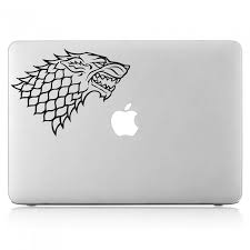 House Stark Sigil Laptop Macbook Vinyl Decal Sticker