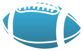 High School Football Decal Custom Football Window Sticker