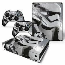 Xbox One X Console Skin Decal Sticker Star Wars Stormtrooper Custom Design Set Ebay
