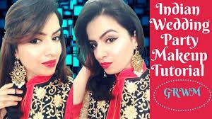indian wedding party makeup tutorial ii