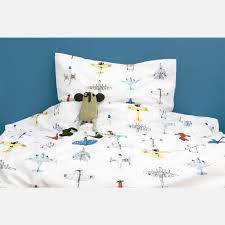airplanes duvet cover junior