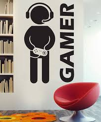 Video Game Decor Video Game Wall Decals Video Game Art Gamer Decal Gamer Decor Gamer Wall Decal Gaming Decor Decal Game Room Decal Decor Boys Game Room Vinyl Wall Decals Kid