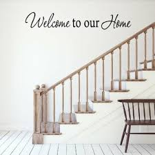 Welcome To Our Home Wall Decal Wayfair