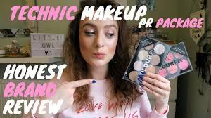 makeup pr package honest brand review