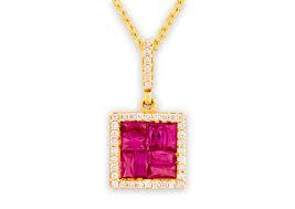 pendant ps 00293r duang kaew jewelry