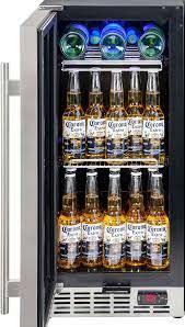 glass under bench bar fridge quiet