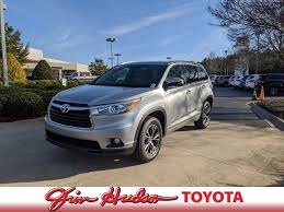 pre owned 2016 toyota highlander xle
