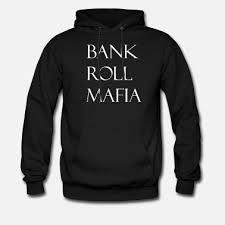 roll mafia white men s premium hoo