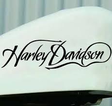 Harley Davidson Gas Tank Decals X2 Harley Chopper Vinyl Decal Ebay