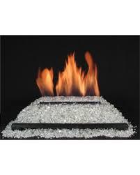 blazing glass vent free burners