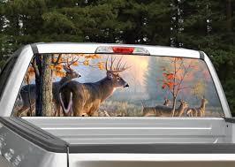 Deer Scenery Rear Window Graphic Decal Miller Graphics