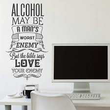 Alcohol May Be Man S Walle Sticker Giftful
