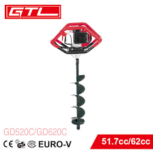 China 62cc Petrol Earth Auger Fence Post Hole Borer Ground Drill Digger Gd620c China Auger Drill And Post Hole Digger Price