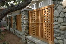 Garden Fences 24 By Charles Prowell Woodworks Fence Design Modern Fence Wood Fence