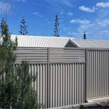China Corrugated Steel Fence Metal Fence Corrugated Sheet Colorbond Fence Steel Fence China Fencing Fence