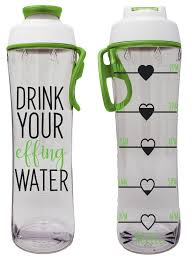 Bpa Free Reusable Water Bottle With Time Marker Motivational Fitness Bottles Hours Marked Drink More Water Daily Tracker Helps You Drink Water All Day Effing Water Walmart Com Walmart Com