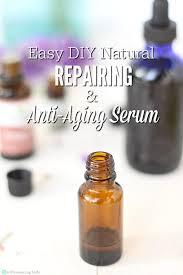 diy face serum recipe repairing anti