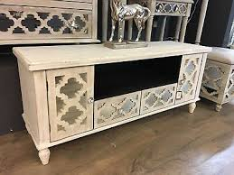 mirror moroccan storage tv cabinet