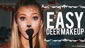 easy deer makeup tutorial