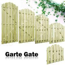 Arched Garden Gate Fsc Impregnated Pinewood Wooden Fence Door Side Picket Gates Ebay