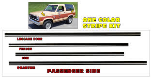 Graphic Express Ford Bronco Windshield Decal 4 X 33
