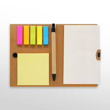 eco friendly notepad with pen gp h9767