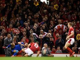 Wales v Scotland Six Nations match ON ...