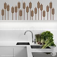 Wheat Grass Border Wall Decals Graphicsmesh