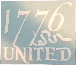 1776 United Logo Decal