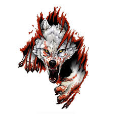 11cm 15cm Angry Wolf Personality Vinyl Laptop And Luggage Cars Decal Sticker Laptop Skins Aliexpress