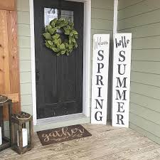 26 Best Spring Porch Sign Ideas And Designs For 2020