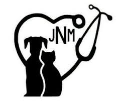 Personalized Veterinarian Vet Tech Decal Sticker For Yeti Cup Water Bottle Windo Ebay