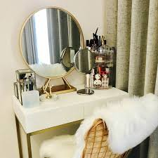 makeup mirror round dressing table