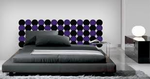 Modern Dots Headboard Wall Decal Dezign With A Z